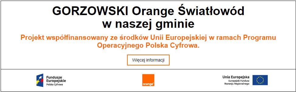 Gorzowski Orange Światłowód