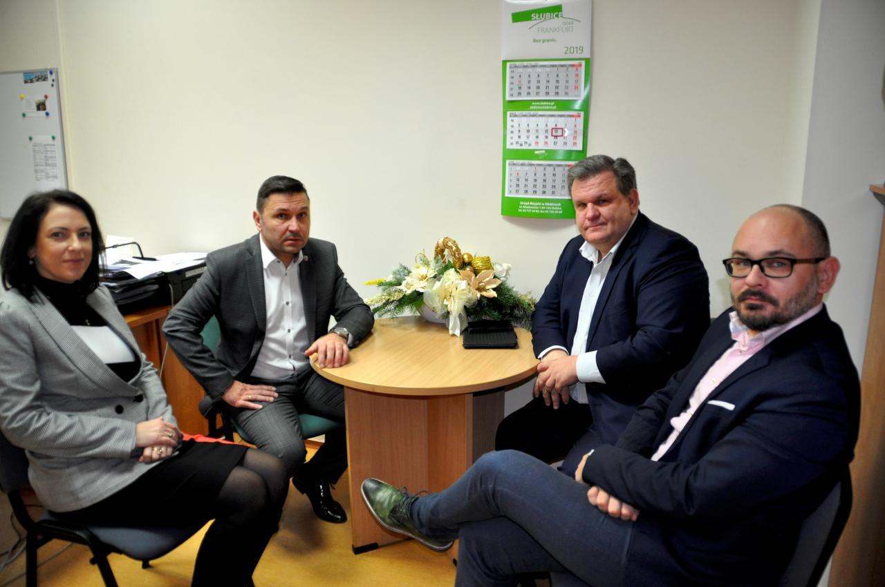 Burmistrz rozmawiał dziś o obwodnicy z posłem Bogusławem Wontorem