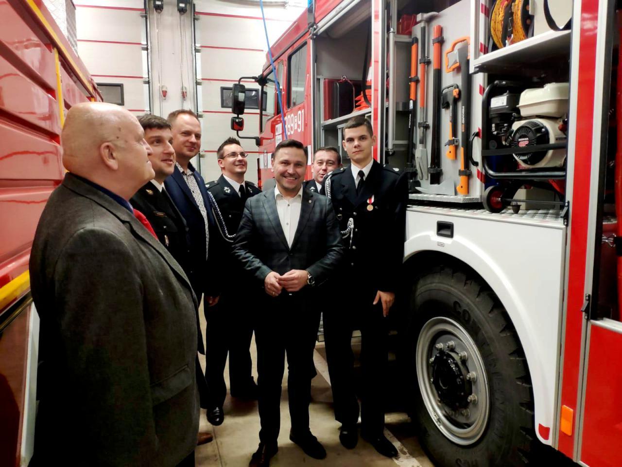 Strażacy z Golic podsumowując rok mieli się z czego cieszyć