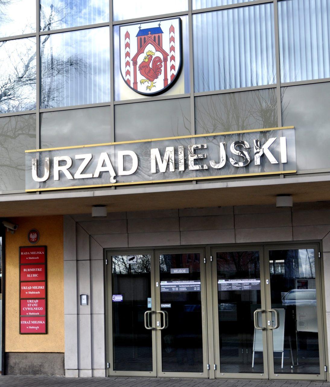 Od 1 września Urząd Miejski w Słubicach czynny od 8:00 do 16:00