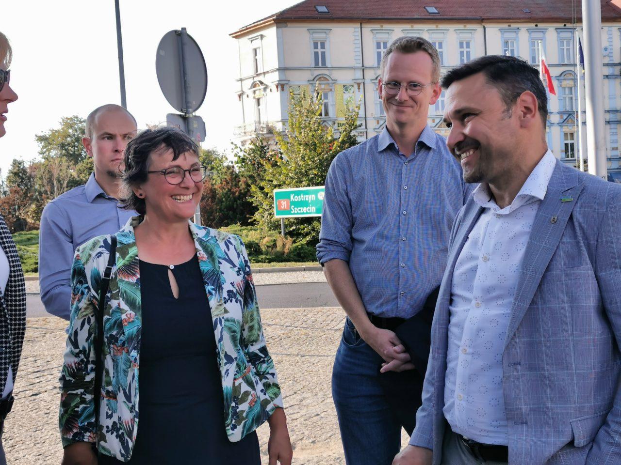 Burmistrz opowiedział gościom z Niemiec o naszym dwumieście