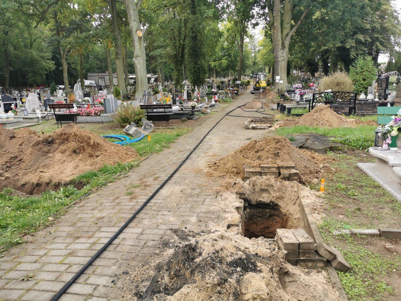 Wkrótce będzie jaśniej na cmentarzu i ul. Północnej