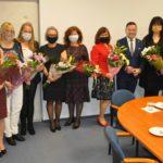 Nagrodzone nauczycielki z samorządowych przedszkoli.