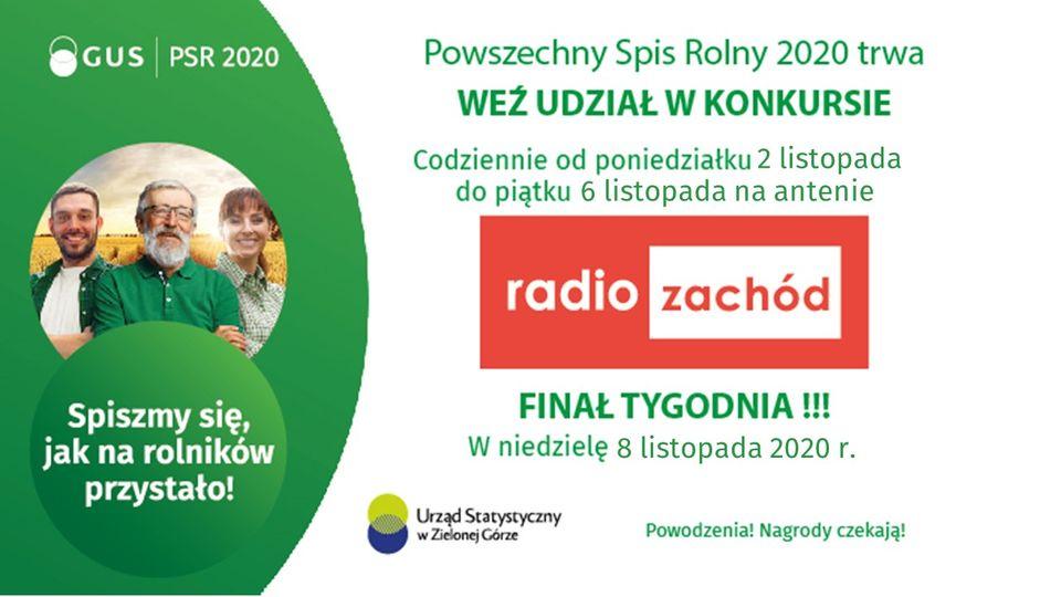 Trzecia edycja KONKURSU #PSR2020 w Radio Zachód ‼️