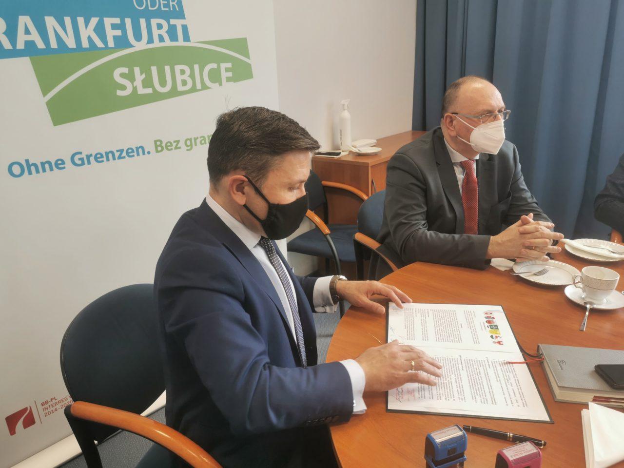 Porozumienie gmin podpisane! Słubice liderem grupy