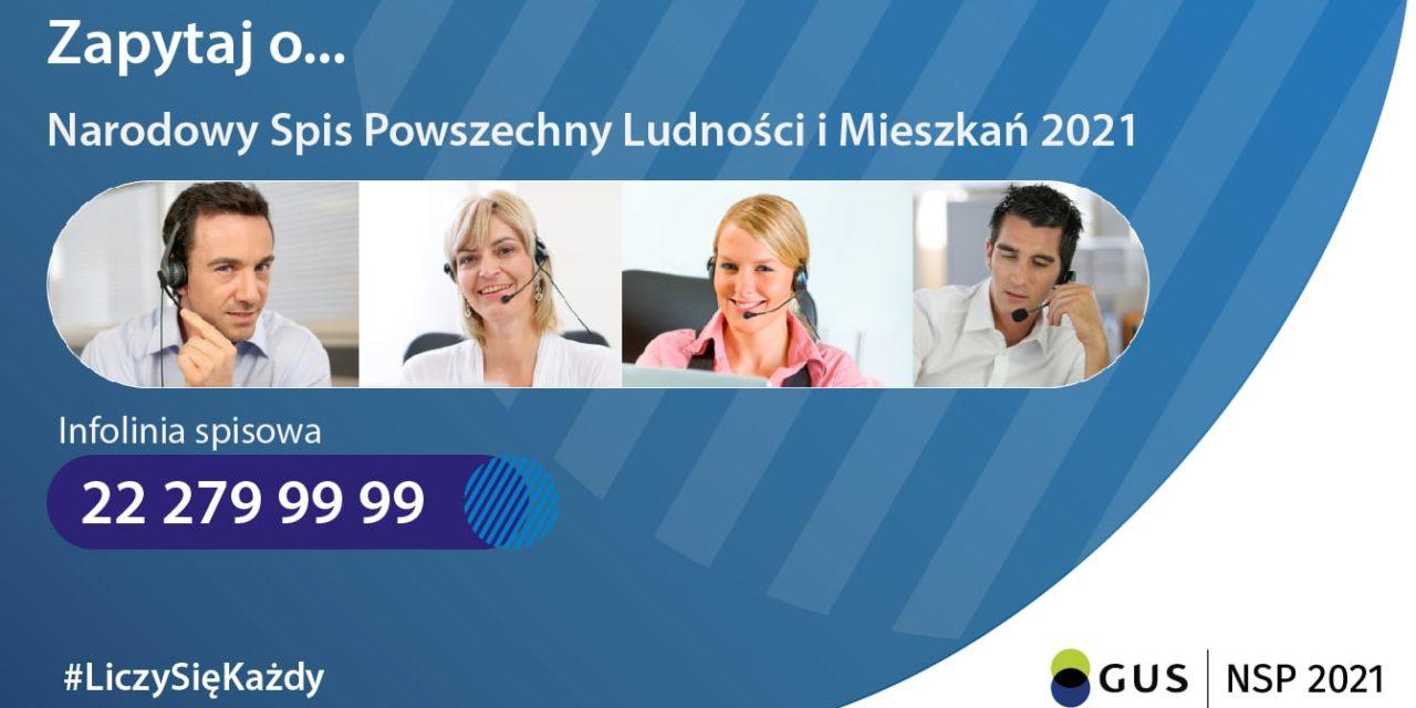 Narodowy Spis Powszechny - Infolinia Spisowa - 22 279 99 99