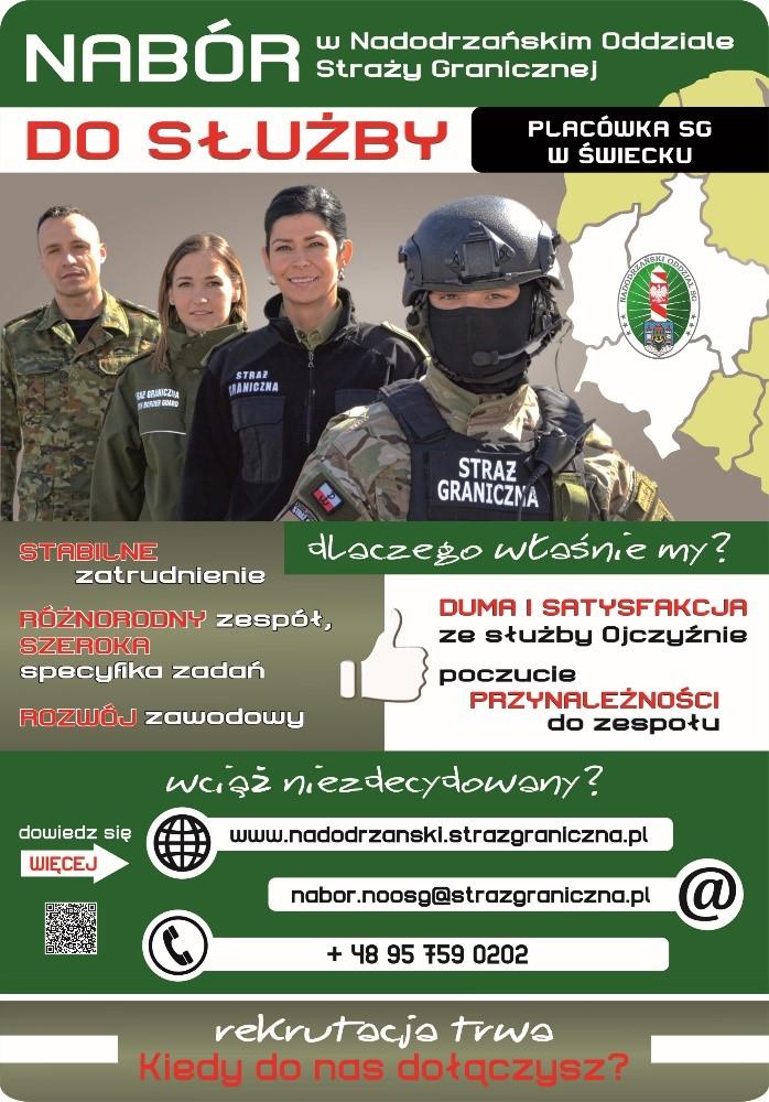 Straż Graniczna szuka chętnych do służby w swoich szeregach