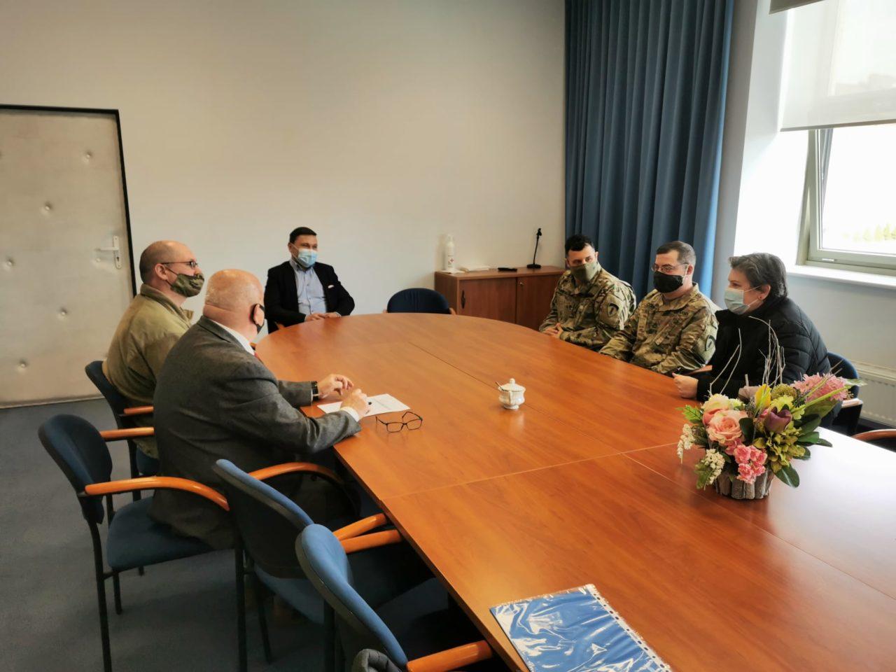Amerykańscy żołnierze z wizytą w Słubicach