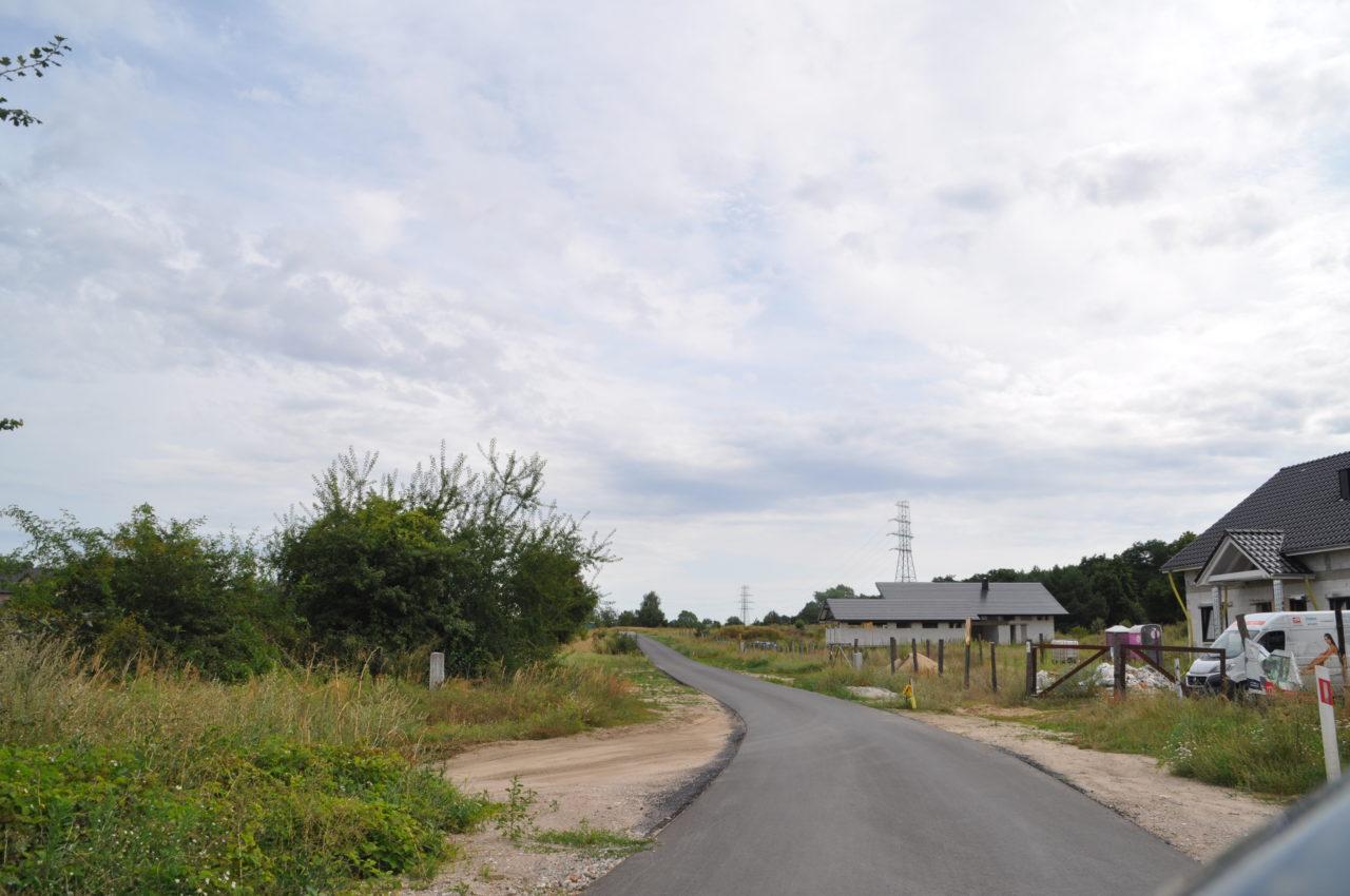 Trwają remonty gminnych dróg