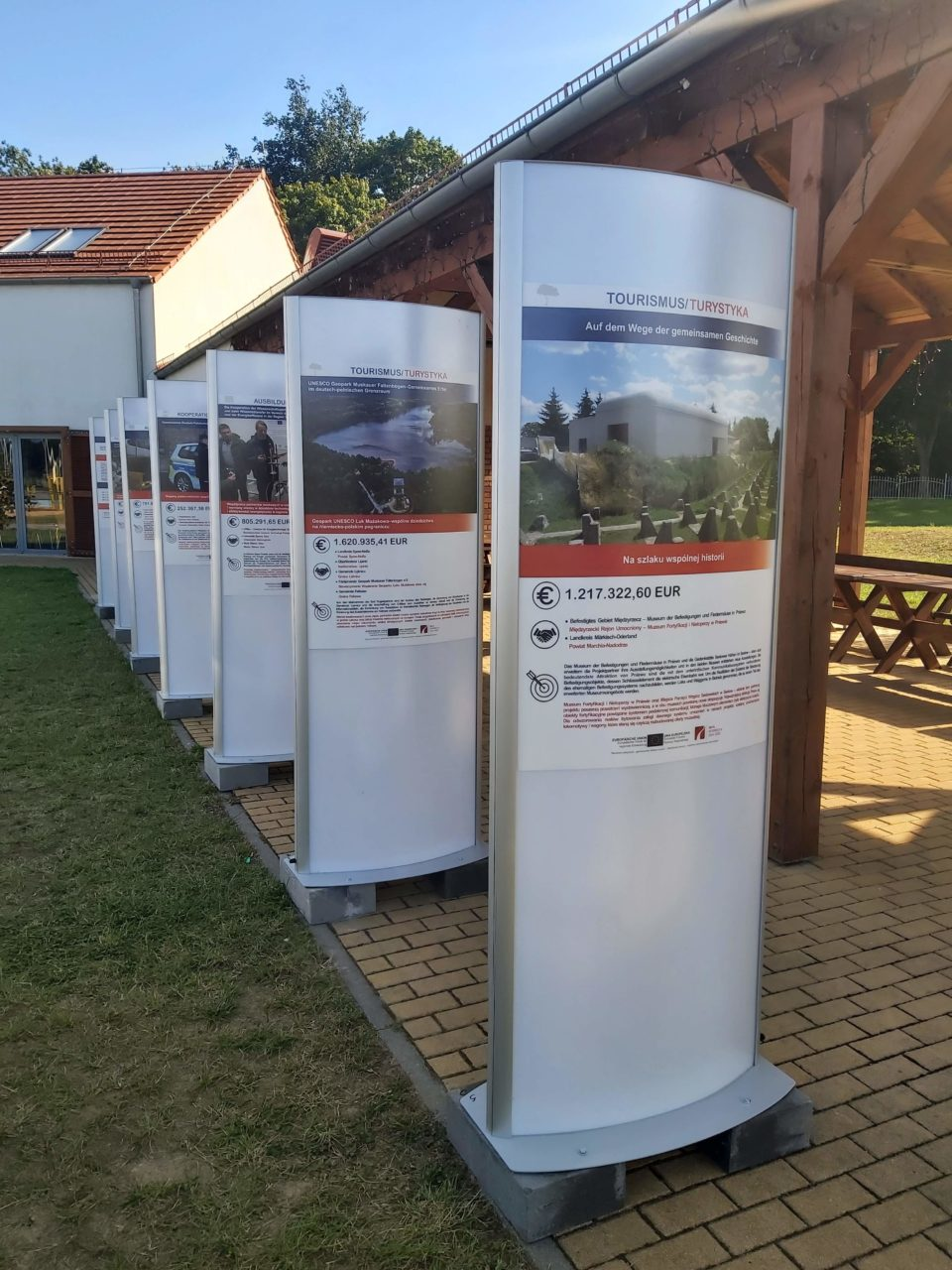Ta wystawa pokazuje, co zrobiliśmy w regionie z pomocą Unii Europejskiej
