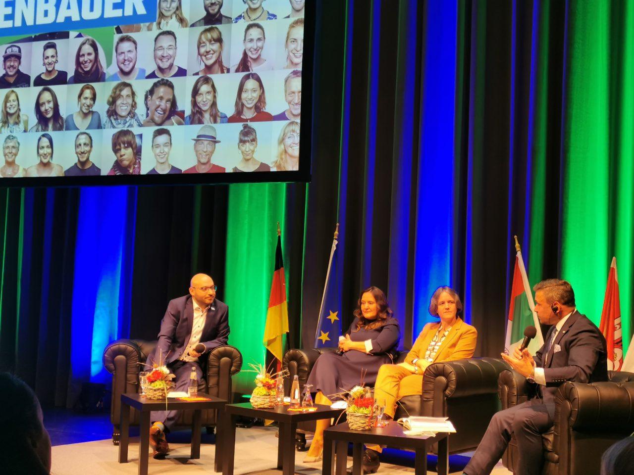 W rocznicę zjednoczenia Niemiec słubiczanie i frankfurtczycy dyskutowali o przyszłości