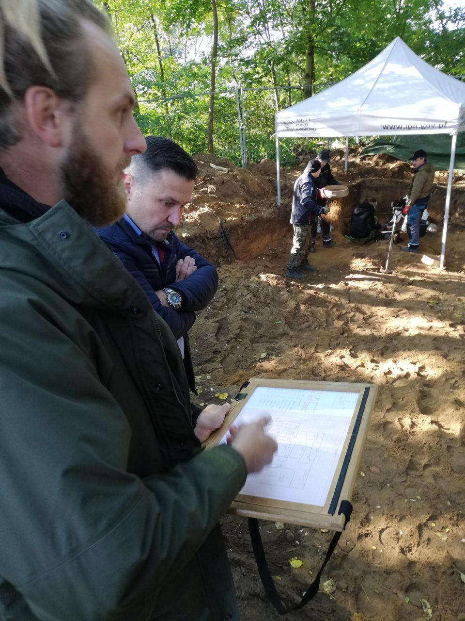 Kolejne szczątki polskich więźniów hitlerowskiego obozu znalezione w Świecku